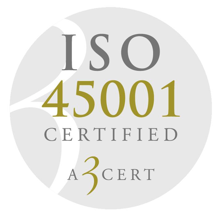 Hagmans Tak ISO 45001 certifikat kvalitet