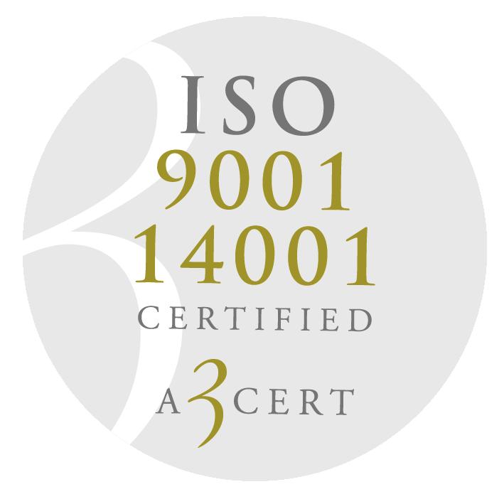 Hagmans Tak ISO 9001 14001 certifikat kvalitet